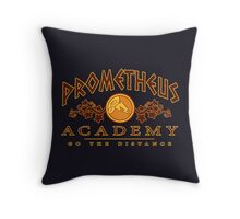 Prometheus Academy Throw Pillow