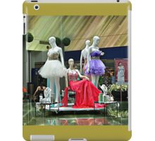 Party Dresses, Center Stage in the Atrium Wishing Pool iPad Case/Skin