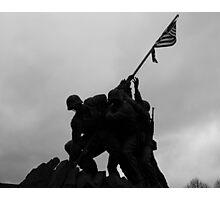 Iwo Jima in the shadows Photographic Print