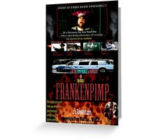 Frankenpimp (2009 ) - 'Original Worldwide Movie Poster' Greeting Card