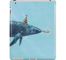 Party Whale  iPad Case/Skin