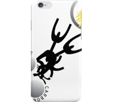 Break the Carbon Chains iPhone Case/Skin