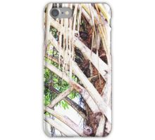 Lowcountry Palm - Close-up iPhone Case/Skin