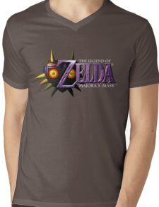 The Legend of Zelda: Majora's Mask Mens V-Neck T-Shirt