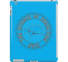 Science of deduction iPad Case/Skin