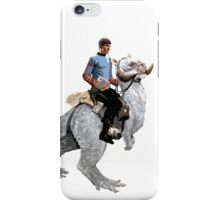 Spock rides the Tantan iPhone Case/Skin
