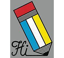 Mondrian: Greeting #2 Photographic Print