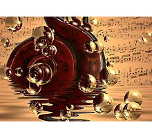 Musical dreams Photographic Print