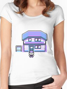 Pokemon pixelated Women's Fitted Scoop T-Shirt