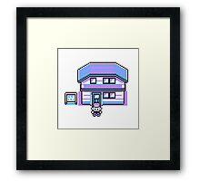 Pokemon pixelated Framed Print