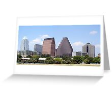 Downtown Austin, Texas Cityscape Greeting Card