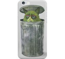 Grouchy Cat  iPhone Case/Skin
