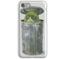 Grouchy Cat  iPhone Case/Skin