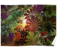 Flower Jungle Poster
