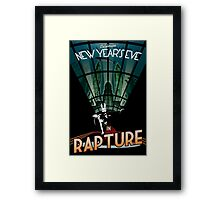 BioShock New Year's in Rapture Framed Print