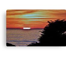 Sunset at Sea Ranch, California Canvas Print