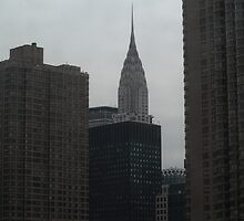 New York City - Chrysler Building by Frank Romeo