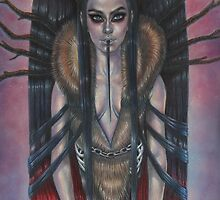Lady Krampus by Jessica Ward