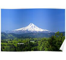 Mt Hood and The Hood River Valley Poster