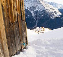 Mountain Hut by Walter Quirtmair