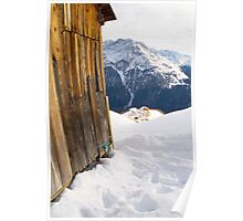 Mountain Hut Poster