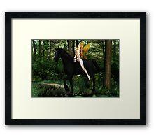 Godiva Framed Print