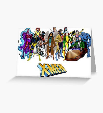 X-men, featuring myself as Mawz Greeting Card