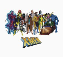 X-men, featuring myself as Mawz by Banarn