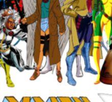 X-men, featuring myself as Mawz Sticker