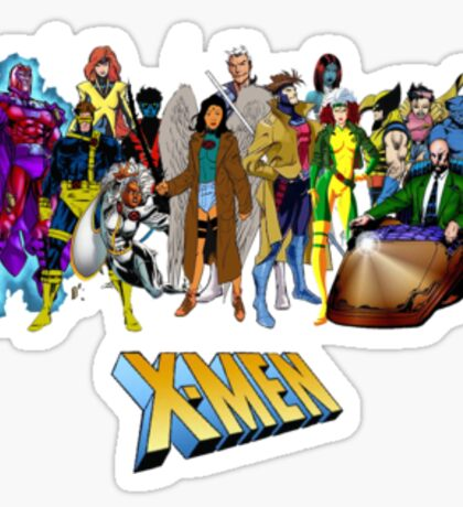 X-men, featuring myself as Mawz Sticker