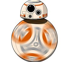 Star Wars: The Force Awakens  BB-8 by ghosthousedsign