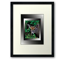 Who is this? :) Framed Print