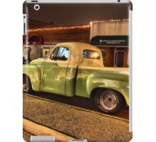 Tis the season to cruise down main street   iPad Case/Skin