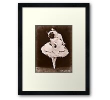 pug dance Framed Print