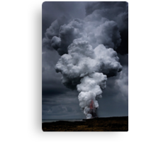 Kilauea Volcano at Kalapana 3a Canvas Print