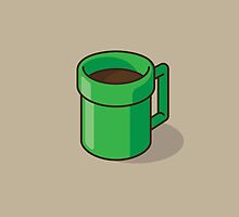 Warp Pipe to Coffee World by jacobparr