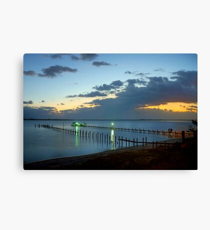 Sunrise On Indian River Canvas Print