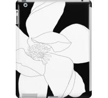 Magnolia 3253 BW Drawing iPad Case/Skin