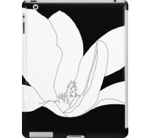 Magnolia 200 BW Drawing iPad Case/Skin