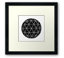 Geodesic  Framed Print