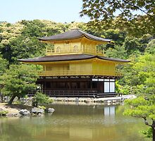 Kinkakuji Golden Pavilion - Japan by Craftymizz