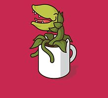 Audrey II, Don't Give Coffee to the Plant! by jacobparr