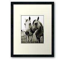 lovers Framed Print