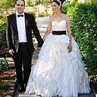 Sarah & Aaren Wedding Portrait by diLuisa Photography