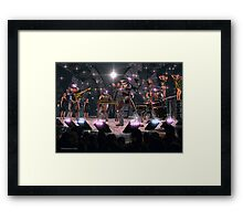 The Cybernetic Four Framed Print