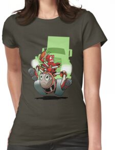 Little Red Robot Tee Womens Fitted T-Shirt