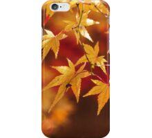 Autumnal yellow iPhone Case/Skin