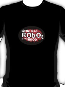 Little Red Robot Logo Tee (RED) T-Shirt