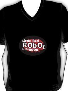 Little Red Robot Logo Tee (RED) T-Shirt