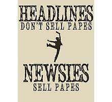 So what makes a headline good?  Photographic Print